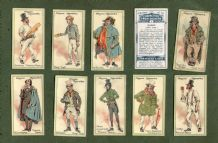 Collectable Cigarette cards Characters from Dickens, Oliver Twist, Scrooge